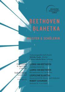 Beethoven & Blahetka: Meister und Schülerin